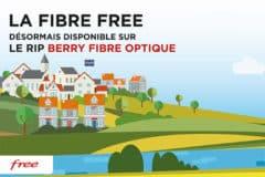 La fibre free sur le rip du Berry