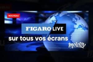 Figaro live sur molotov
