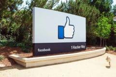 Entrée de Facebook