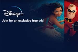 Page d'accueil Disney Plus