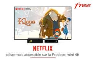 Netflix sur la Freebox Mini 4K