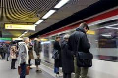 Ligne A du métro lyonnais couvert par la 4G