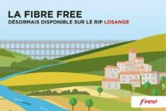 Free est disponible sur le réseau Losange dans la région Grand Est
