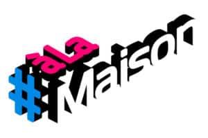 logo a la maison, la chaîne du confinement