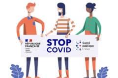 Logo de Stop Covid