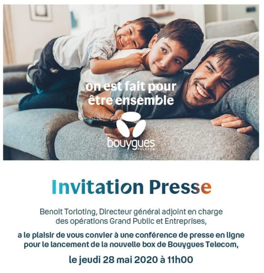 Nouvelle box de Bouygues Telecom