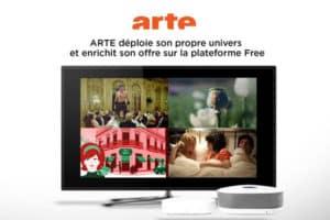 Replay étendu d'Arte sur Freebox