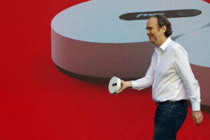 Freebox Pop et Xavier Niel
