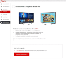 capture freebox pop multi-tv
