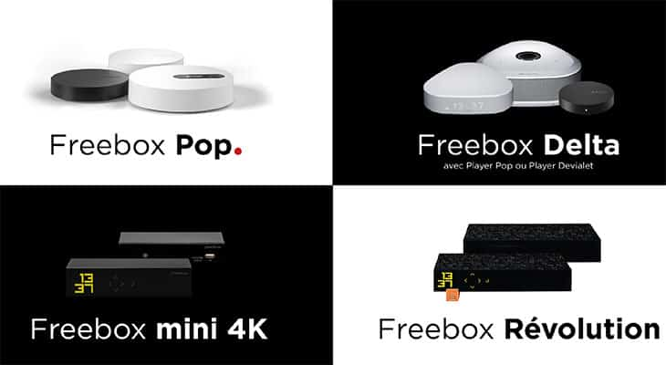 Nouvelle gamme Freebox