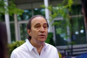 Xavier Niel patron de Free au siège