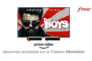 Prime Video est maintenant accessible sur Freebox Révolution