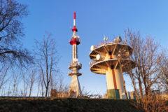 Antenne TDF à Montfaucon - Doubs