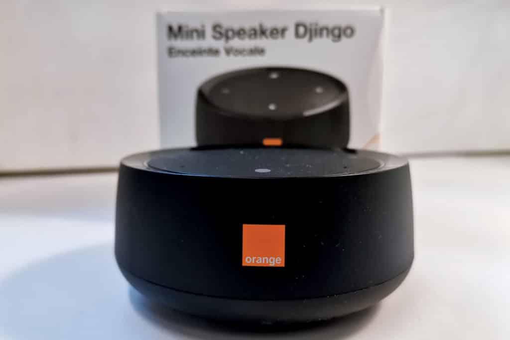 Mini speaker Djingo