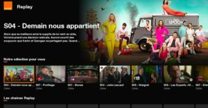 orange tv menu replay