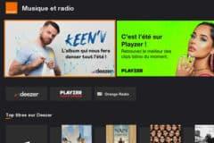 orange tv portail musique radio