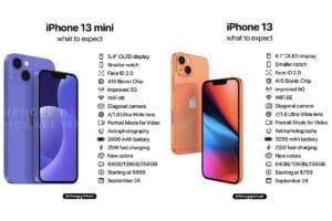 iphone 13 mini 13 specs