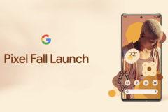 pixel fall launch google